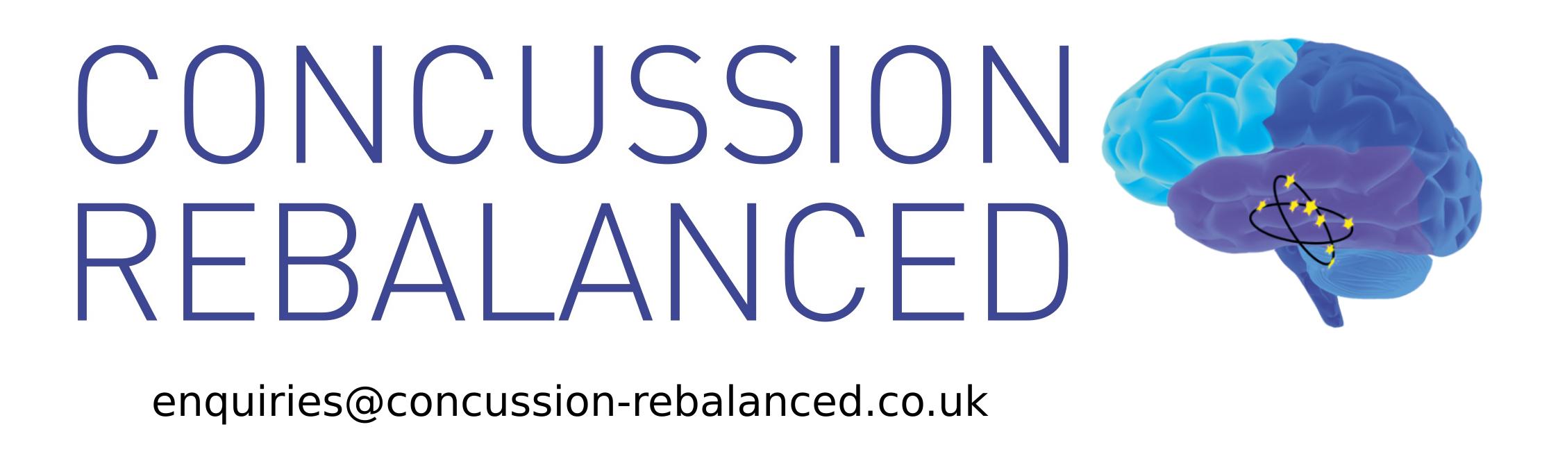 Concussion Rebalanced Logo