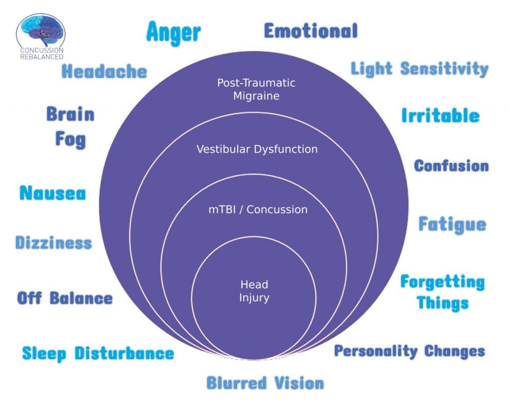 The terms concussion and mild traumatic brain injury